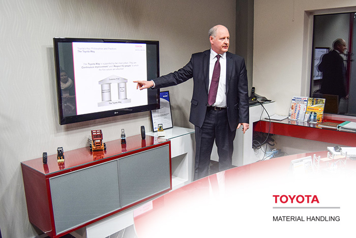 Toyota Material Handling Europe - Exclusive distributor, for forklifts