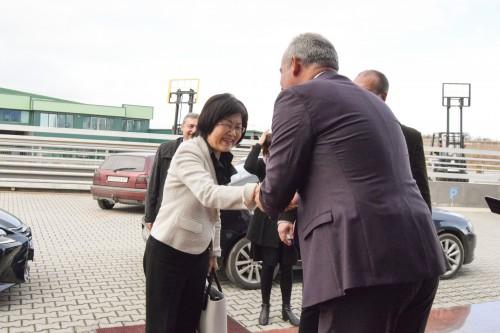 Vizita e ambasadorit japonez në Maqedoni në Thermalift